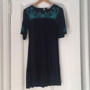 Loft Embroidered Dress